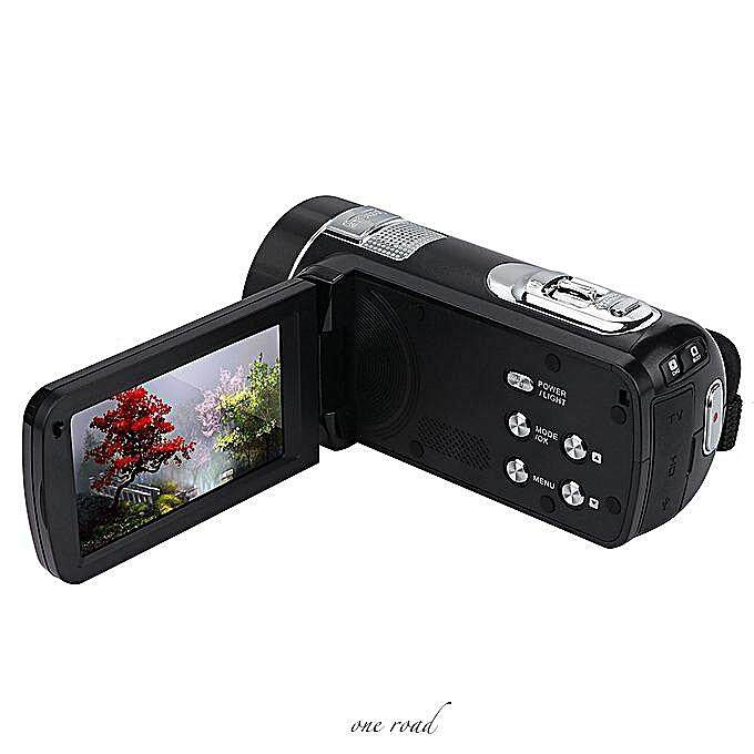 Camera Camera Hd 1080P 24.0Mp 18X Digital Zoom Camera Night Vision 20A Drop Case
