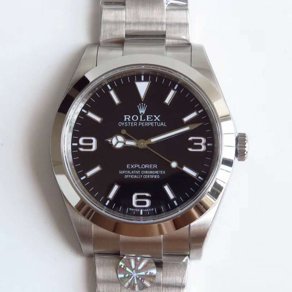 AR Factory Rolex_Explorer 214270 SS 904L Black Dial Swiss 3132 探险家第一代 Malaysia