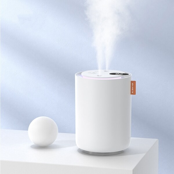 500ML Portable Personal Humidifier Dual Atomize Nozzle Aroma Diffuser Humidifier Adjustable Mist Modes Singapore