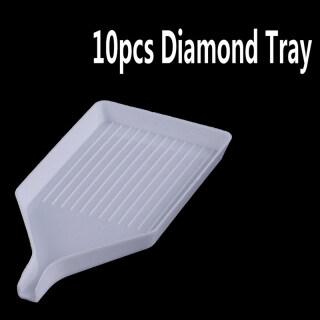 UNI 10pcs DIY Diamond Tray Drill Plate Painting Accessories Diamond Painting Tool thumbnail
