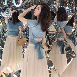 Bộ Váy Goopepal Cho Nữ, Trang Phục Thời Trang Thanh Lịch Thoải Mái Cho Chị Em Học Sinh Váy Phù Hợp Với Mùa Hè thumbnail