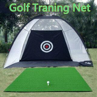 Thảm Hỗ Trợ Tập Golf Có Túi, 2M 3M Lồng Tập Gôn Tiện Dụng Cho Sân Vườn Trong Nhà Ngoài Trời Lưới Tập Luyện Lái Xe thumbnail