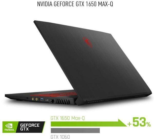 MSI GF75 Thin 9SC-027 17.3 Gaming Laptop, Thin Bezel, Intel Core i7-9750H, NVIDIA GeForce GTX1650, 16GB, 512GB NVMe SSD Malaysia