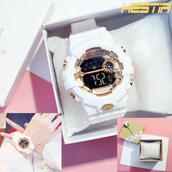 HESTIA INS Couple Watch Electronic Watch For Women Digital Watch Sports Watch For Men Malaysia