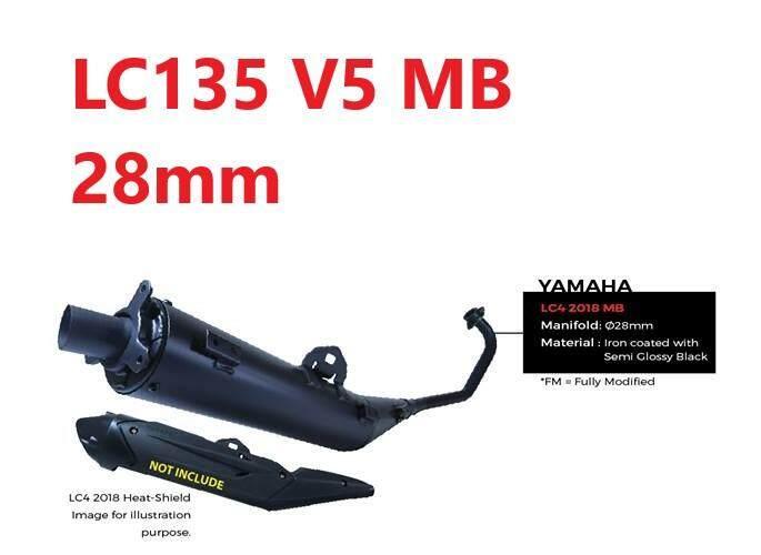 CJ Ipoh MB Muffler Exhaust LC135 V5 (Silencer 28mm)