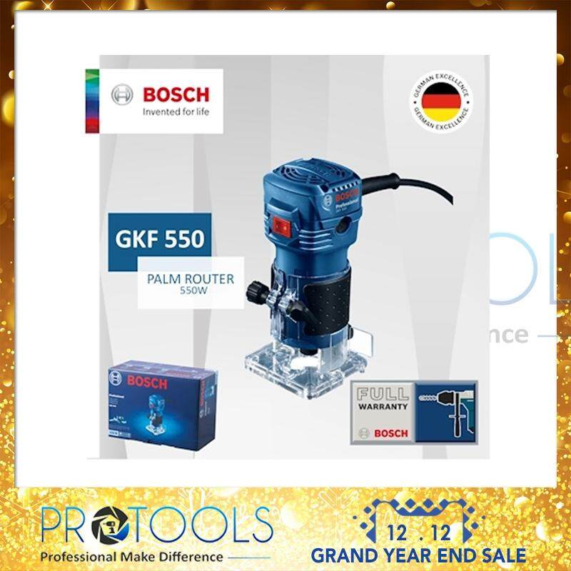BOSCH 550W PALM ROUTER (GKF550)  FOC 1 ROUTER BIT INSIDE