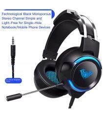 AULA G91 Tai Nghe Headphone Máy Tính Game Thủ Bass Sâu