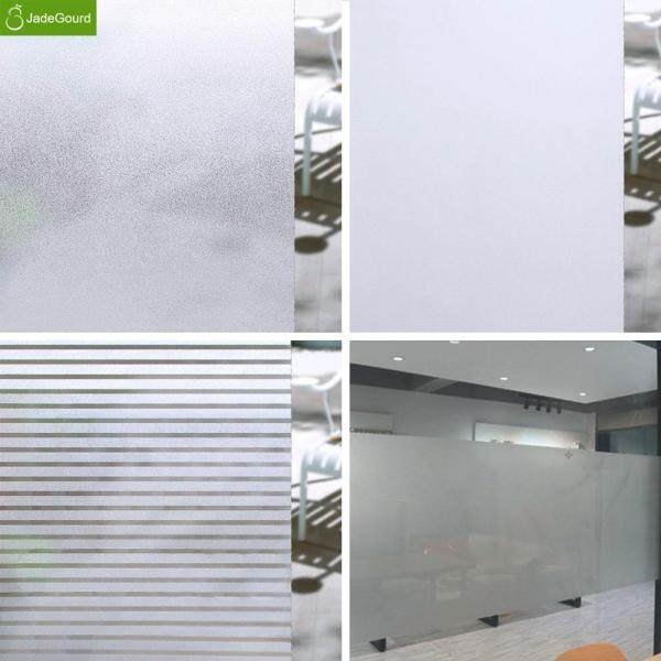 No Glue Non Self-Adhesive Privacy Protection Frosted Window Film Waterproof Glass Sticker