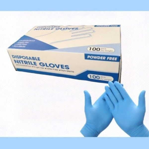 Nitrile Disposable Gloves 10ps