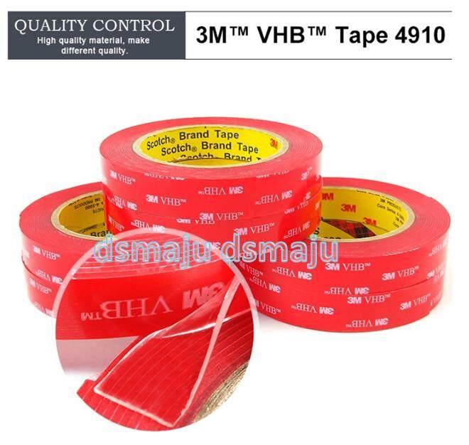 (20mm x 3 Meter) 3M 4910 VHB Tape 3M Double Sided Tape High Temp  Transparent Acrylic Foam Tape