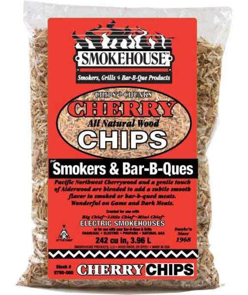 Wood chips Wood charcoal BBQ Natural Flavored Wood Smoking Chips- Smokehouse Products (800g)