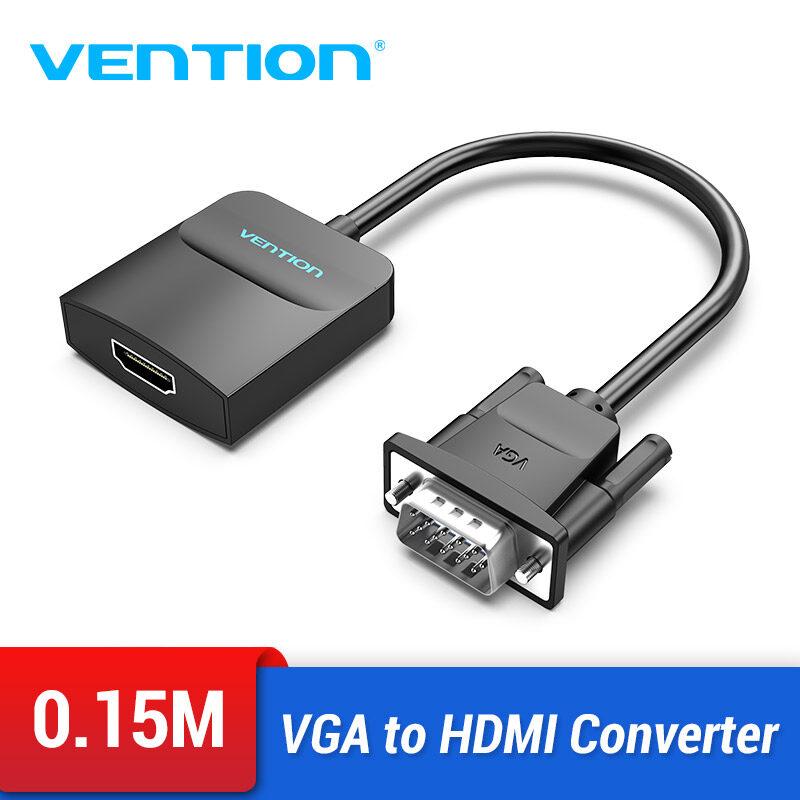 Vention VGA to HDMI Converter 1080P HD Audio Video Adapter VGA HDMI Connector