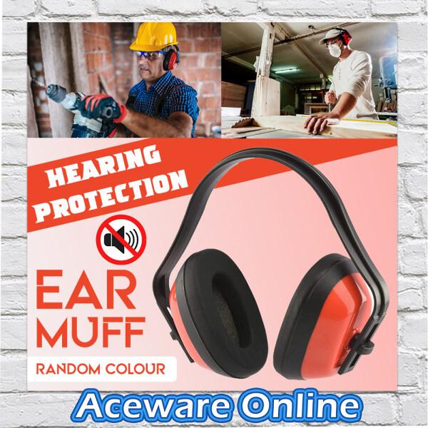 PROTECTION ANTI-NOISE EAR MUFF EAR CAPS EARMUFF (RANDOM COLOUR)