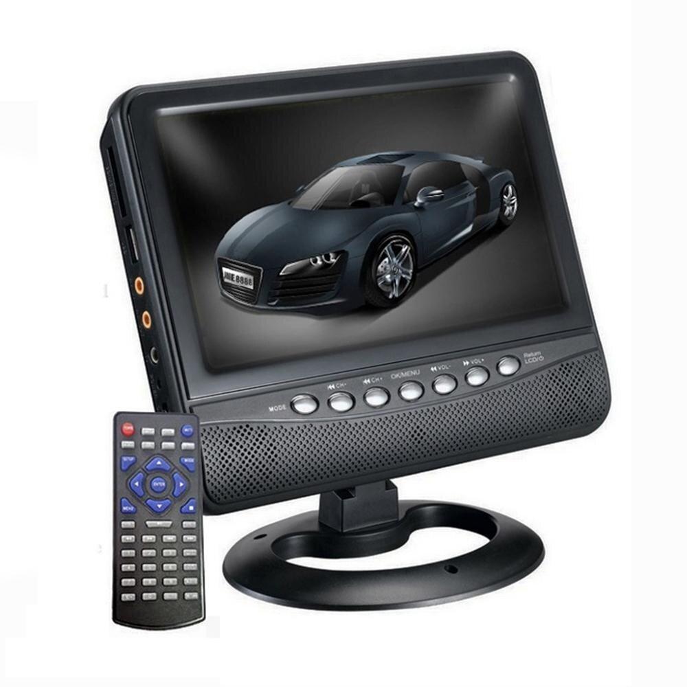 7.5 ทีวีแบบพกพาขนาดเป็นนิ้วสัญญาณอะนาล็อกเครื่องเล่นเพลงวิดีโอ W/fm/micro Sd/usb/av In ลำโพงสองตัวไม่มีระบบปฏิบัติการ By Bestbuy11 Shop.