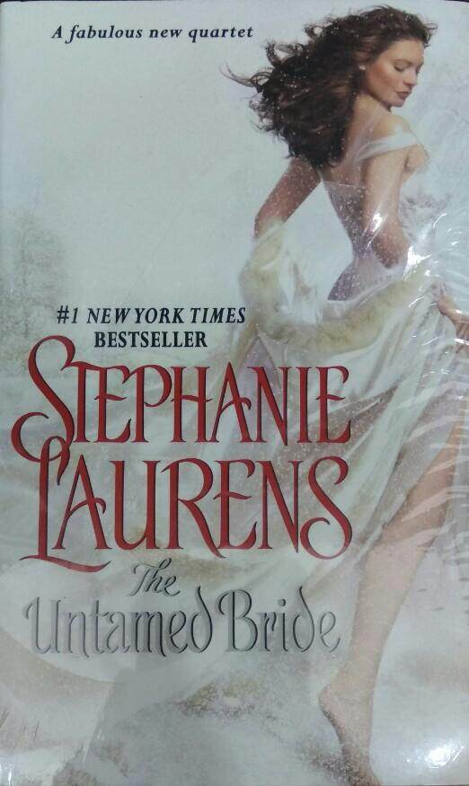 The Untamed Bride Stephanie Laurens Historical Romance Novel By Little Red Riding Book.