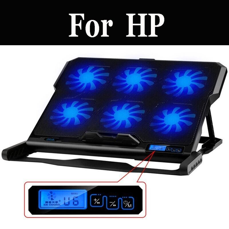 Laptop Cooler Notebook Stand With Usb Ports And Cooling Fans Silent For Hp Bu007tuc X360 11 G1 Ee Pro X2 Rugged Elite X2 1012 Hp Malaysia