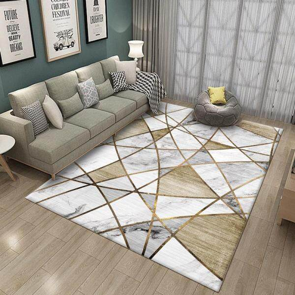 6 sizes Abstract geometric pattern carpet Nordic style living room bedroom carpet model carpet can be machine wash
