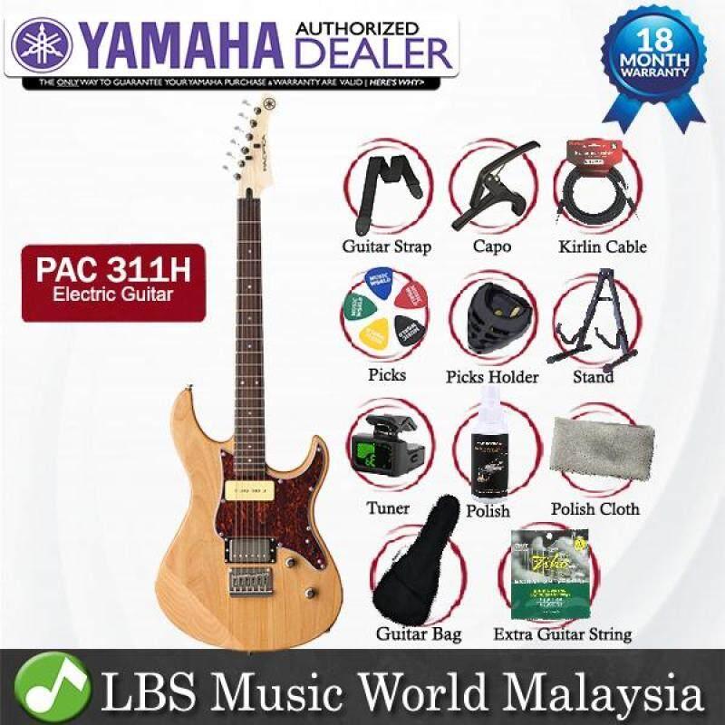 Yamaha PAC 311H Alder Humbucker Single Coil Alnico Electric Guitar Yellow Natural Satin (PAC311H) Malaysia
