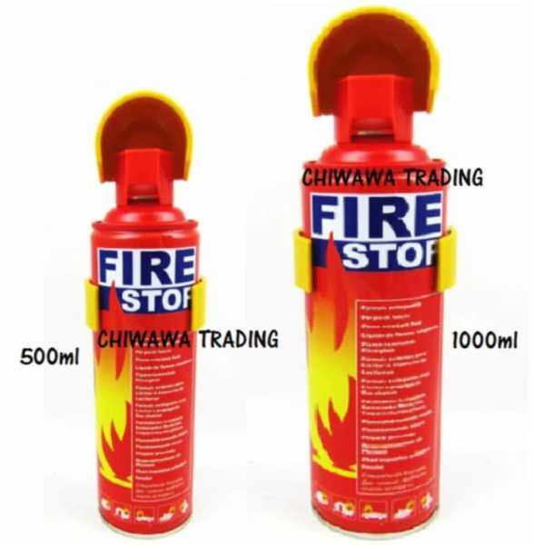 READY STOCK 500mL 1000mL Fire Extinguisher Fire Stop Foam Home Emergency Life Saviour sparay alat PEMADAM API kebakaran