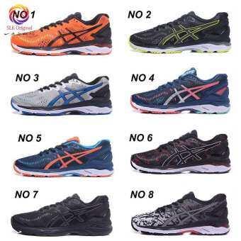 Original Asics GEL-KAYANO 23 รองเท้ากีฬาสำหรับวิ่งรองเท้าบัฟเฟอร์-