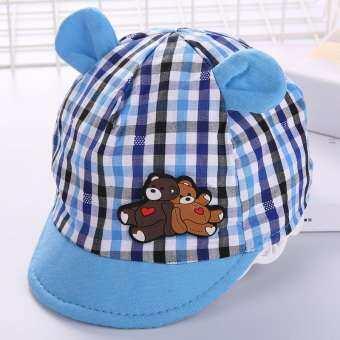 หมวกผ้าฝ้ายกันแดดสำหรับเด็กทารกสำหรับสวมใส่ในฤดูใบไม้ผลิฤดูร้อน
