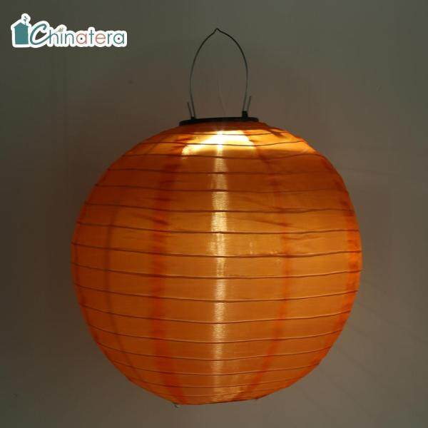 [Chinatera] Đèn Lồng Năng Lượng Mặt Trời LED 10Inch Đèn Lồng Lễ Hội Truyền Thống Trung Quốc Đèn Treo Chống Nước Đèn Cảnh Quan Trang Trí Sân Vườn Ngoài Trời Sân Nhà