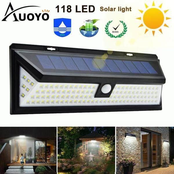 Đèn LED Auoyo Năng Lượng Mặt Trời siêu sáng có khả năng chống nước IP 65 dùng trong gara sân vườn hồ bơi - INTL