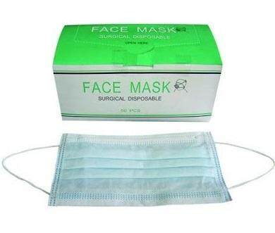 NURSE FACE MASK 3PLY DISPOSABLE MASK SURGICAL MASK 50PCS