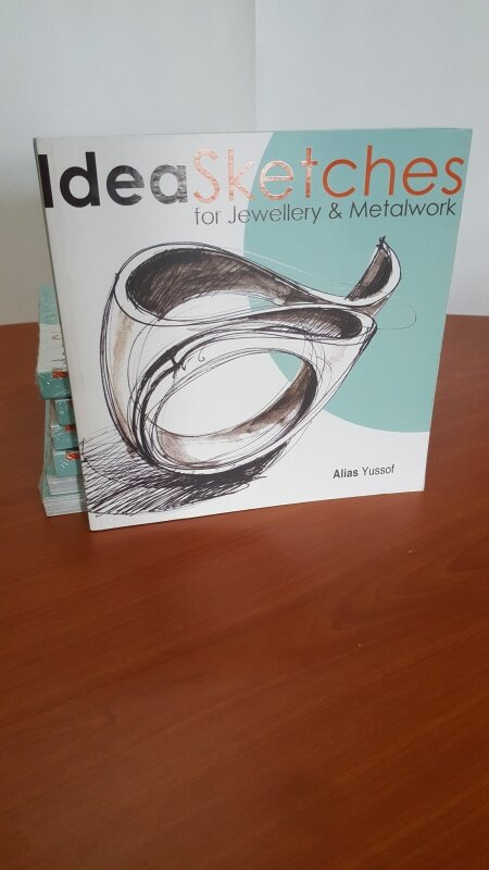 BACA MALL-Idea Sketches for Jewellery and Metalwork-IM BOOKS EVERYTHING Malaysia