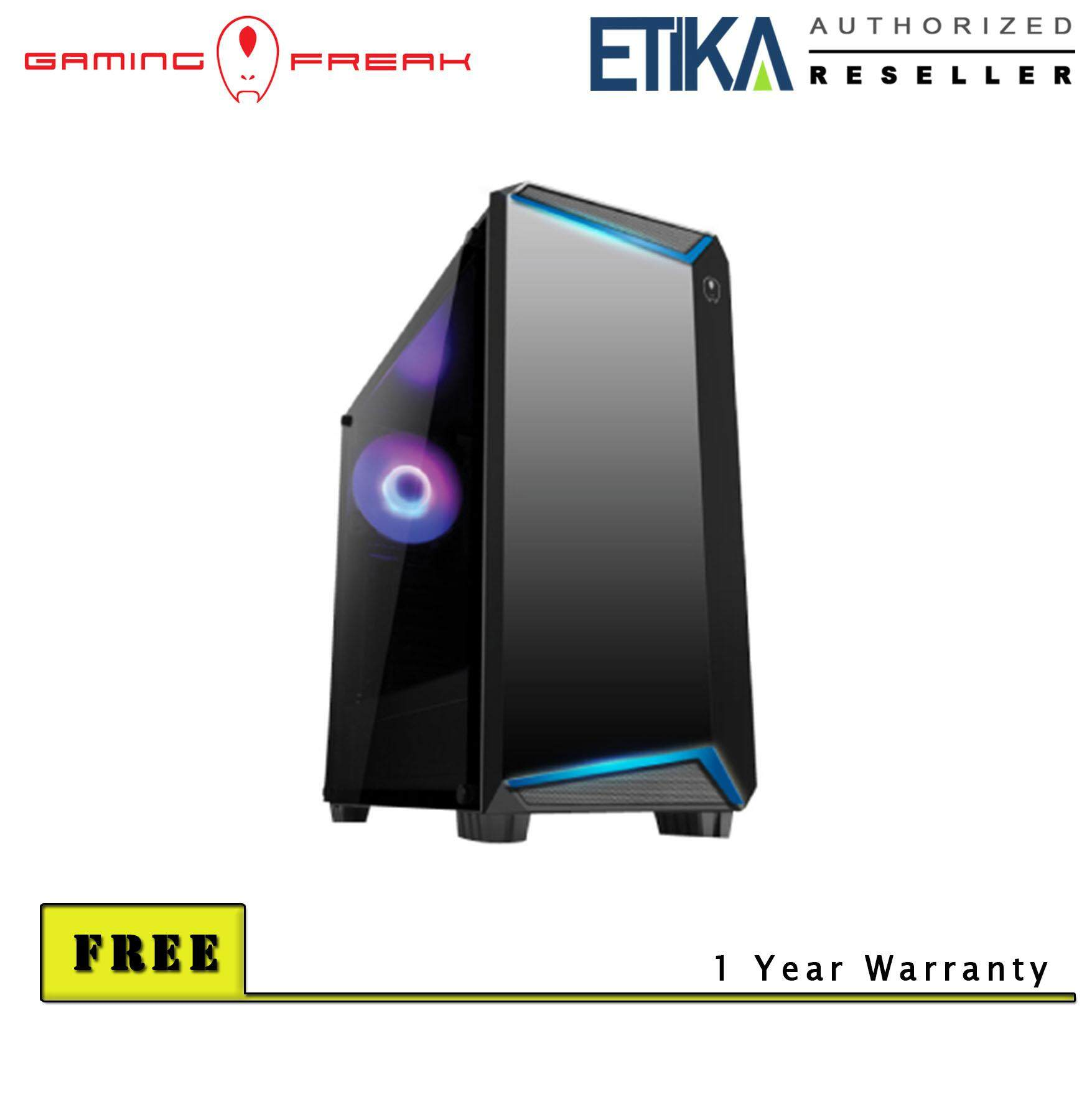 Gaming Freak Flux K12  Premium Middle Tower Case Malaysia