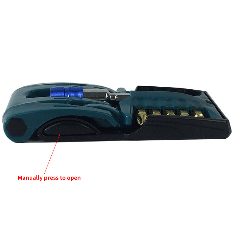11Pcs Screwdriver Bit Set Holder Pro Electric Grade PH Slotted PZ Torx Repair Drill Tools