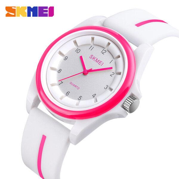 SKMEI Fashion Casual Watch For Women Quartz Simple Silicone Waterproof Watches 1578 Malaysia
