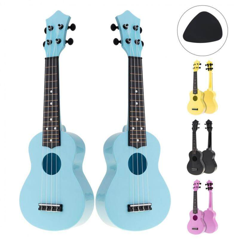 4 colors 21 Inch Soprano Ukulele Colorful Acoustic 4 Strings Hawaii Guitar Instrument for Children and Music Beginner Malaysia