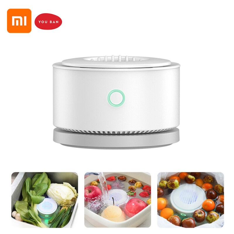 Xiaomi YOUBAN UPS-01 Portable Fruit and Vegetable Purifier IPX7 Waterproof Unveiled Sterilization Effect Over 99.99% Singapore
