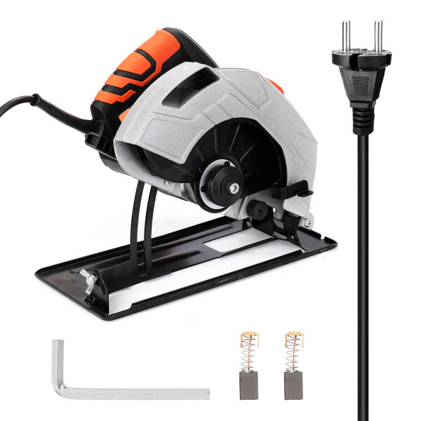 7 Inch Electric Circular Saw Household Aluminum Body Portable Woodworking Electric Saw Table Saw Electric Saw Machine Flip Power Disk Saws