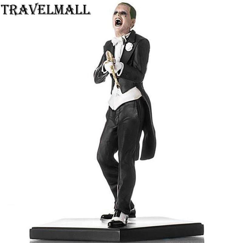 TraVelMall Mới Trong Hộp Anime Joker tuxedo 20 cm PVC Hành động Hình đồ chơi Mô hình Siêu anh hùng Tự tử Biệt đội Quà tặng cho trẻ em