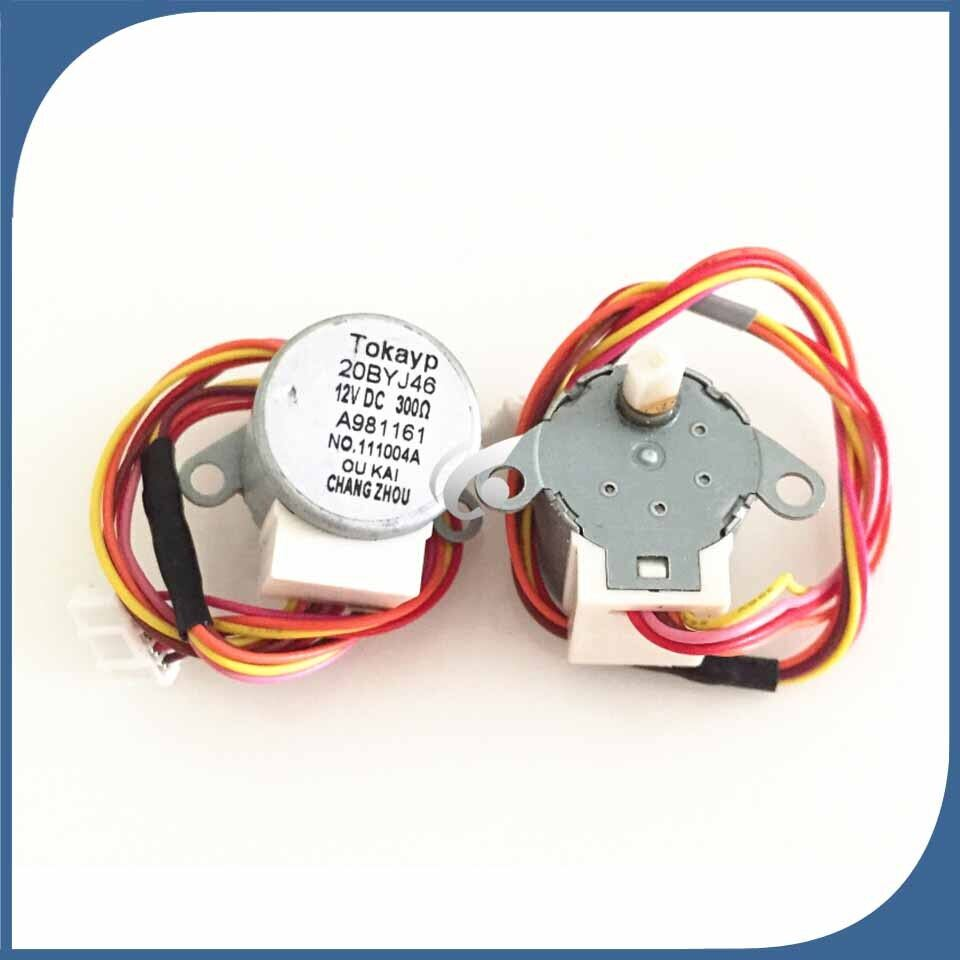 Air Conditioning Parts Swing Motor Stepper Motor 20BYJ46 DC 12V 4 Phase 5 Wire