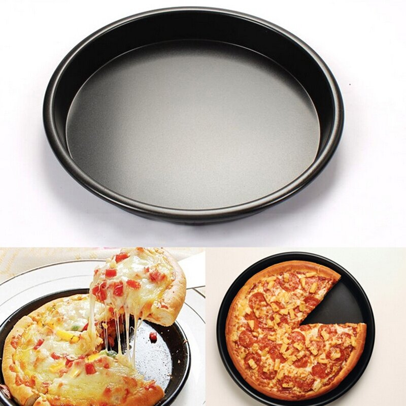 Ying111 Đĩa Sâu Tròn Mới Chảo Nướng Pizza 8 \