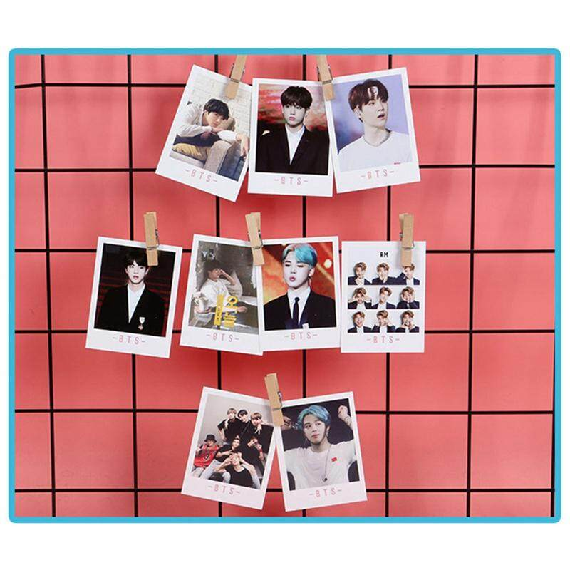 CANDY 45 Pcs/ Box Korea Pop Bangtan Boys BTS LOMO HD Polaroid Card