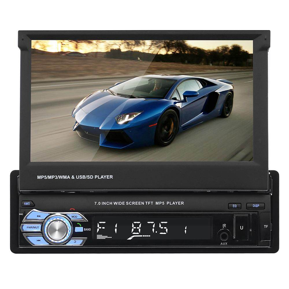 Car Stereo For Sale Cars Online Brands Prices Sansui Wiring Harness Luckdragon 1din Audio Hd Digital 7 Retractable Touch Screen Mp5 Player