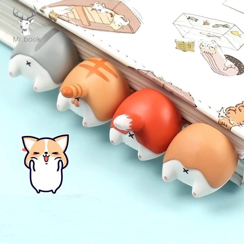 Lovely Cartoon Dog Cat Hamster Fox Pp Bookmarks Novelty Book Reading Item Creative Gift For Kids Children Stationery By Dukeen.