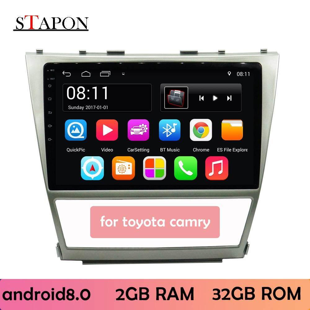 Stapon 10 Inch 2.5d Android8.1 Untuk Camry 2006-2011 2g Ram Unit Sandaran Kepala Pasang Dan Pakai Pemutar Multimedia Dengan Wifi Bluetooth Gps Roda Kemudi Kontrol Belakang 1020a By Stapon Electronic Store.