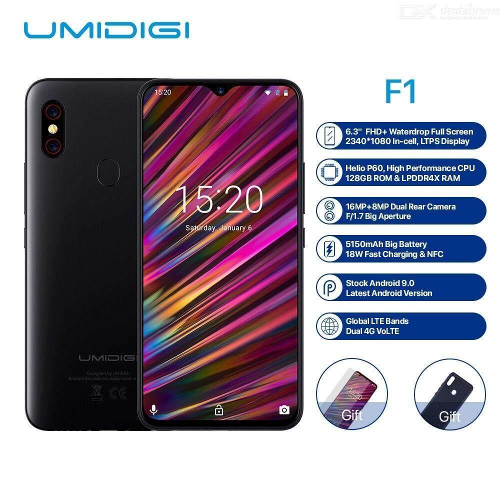 8243aaf8e38 UMIDIGI F1 Android 9.0 6.3 Inch Dual SIM 4GB RAM + 128GB ROM Smartphone With  5150mAh