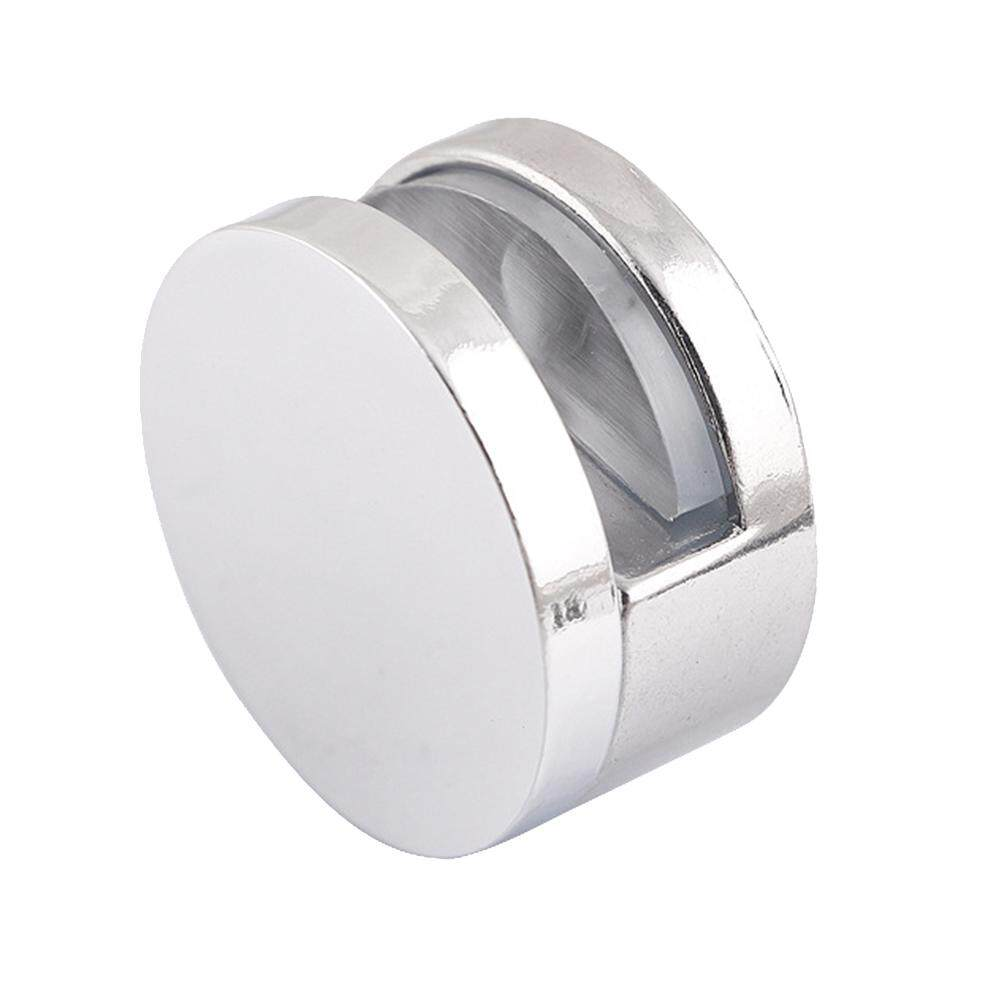 4 Pcs Easy Install Anti Corrosion Zinc Alloy Wear Resistant Support Bathroom Fixed Mirror Home Glass Clamp