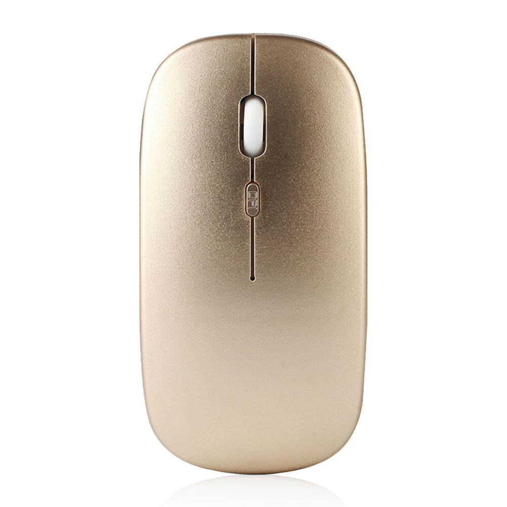 〔questionno〕W8 2.4G Wireless Rechargeable Thin Silent Mouse 1600DPI 4 Keys Optical Mice Malaysia
