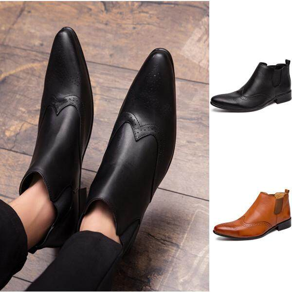 fe32c5b58545 Men Shoes Casual Business Shoes Wedding Formal Leather Shoes for Men  Driving Shoes