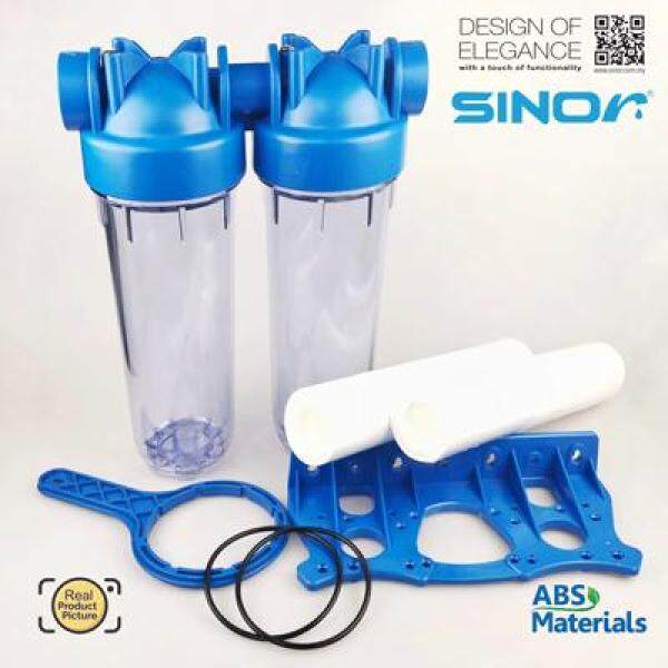 Sinor WF-HF-1002-2 Double Stage ABS Housing Water Filter