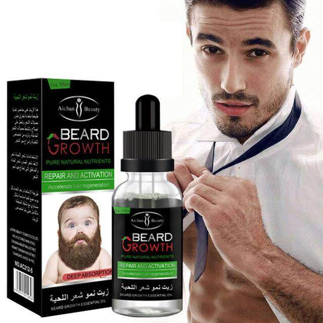 Beard And Hair Growth Oil Serum 30ml (function Like Mensive Mbo ) By Aichun Beauty With Gift By Scitec Nutrition.
