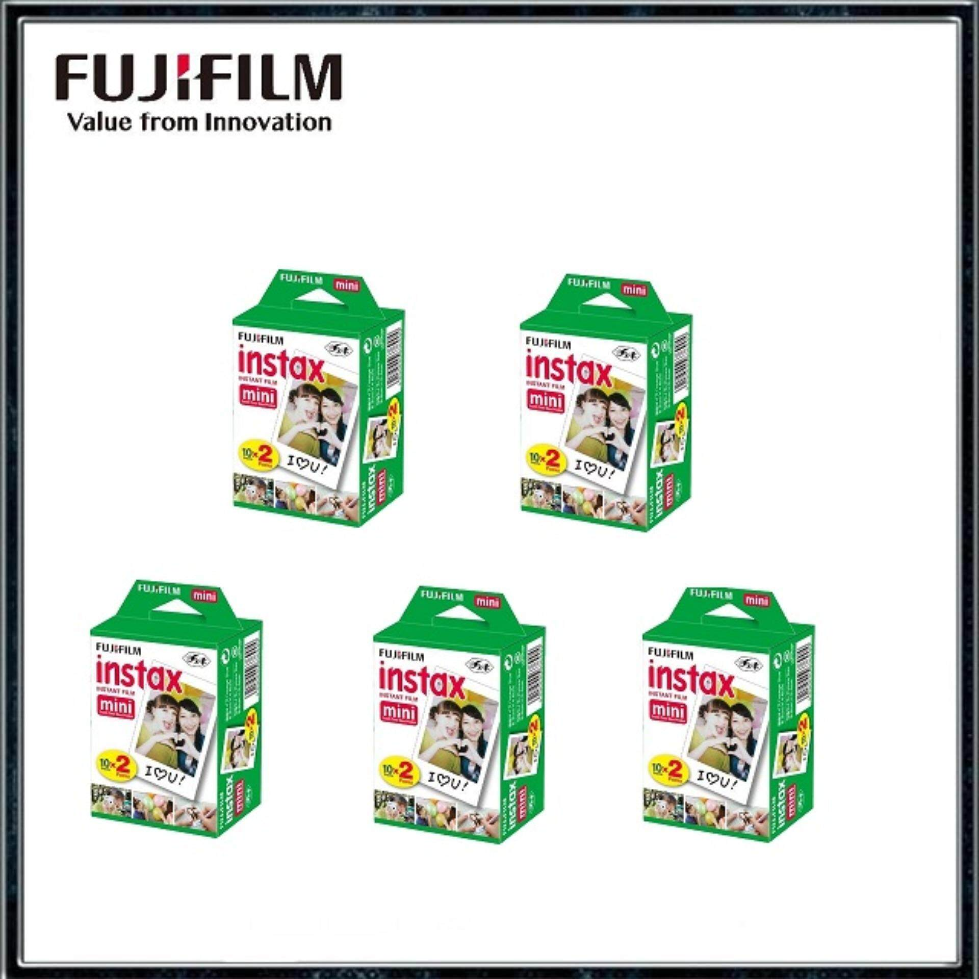 Fujifilm Instax Mini Instant Film Twin Pack (100sheets) By Digital Solutions.