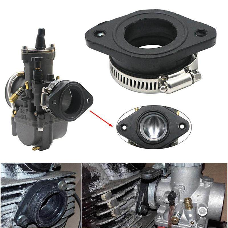 Universal Rubber Adapter Inlet Intake Pipe Carb Carburetor Adapter For Pwk28 30mm Carburetor Utv Atv By Gazechimp.